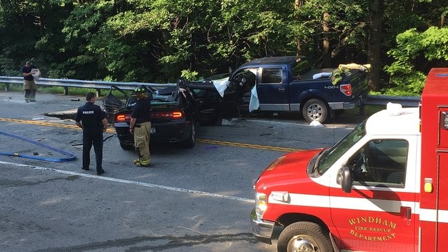 Serious crash shuts down Rt  302 in Westbrook | WGME