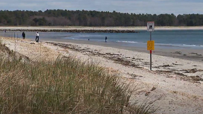 Some Maine Beaches Lift Walking Only Directive Wgme