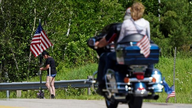 Bikers say their farewells to those killed in fiery NH crash