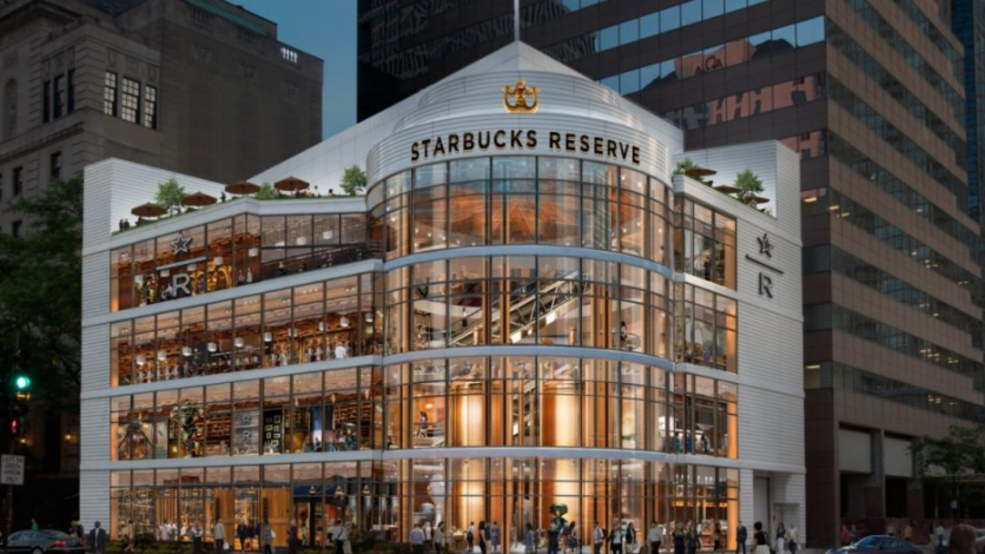 The world's largest Starbucks is opening in Chicago this