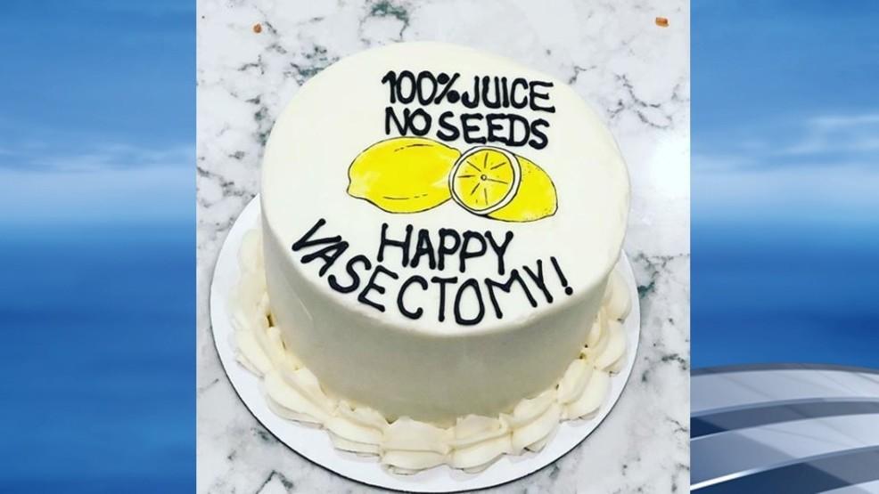 Nashville Bakery Creates Hilarious Happy Vasectomy Cake