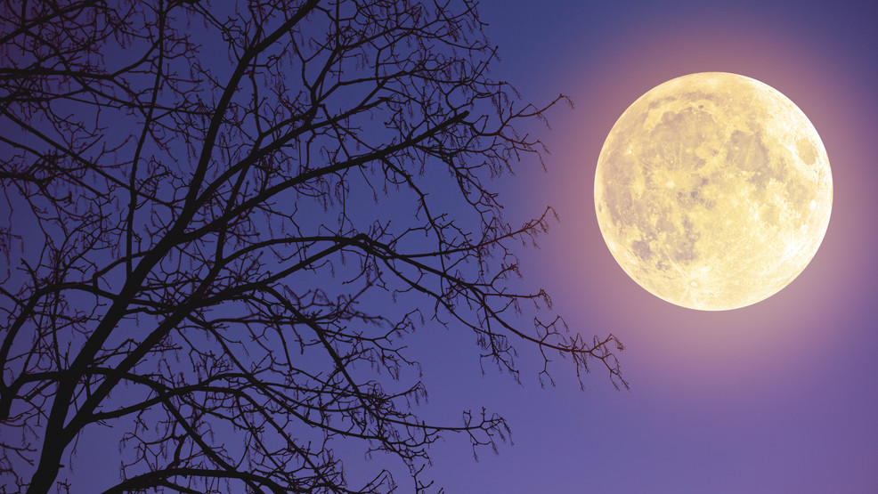 Once In A Blue Moon 2 Full Moons To Take Place In October Including One On Halloween Wgme