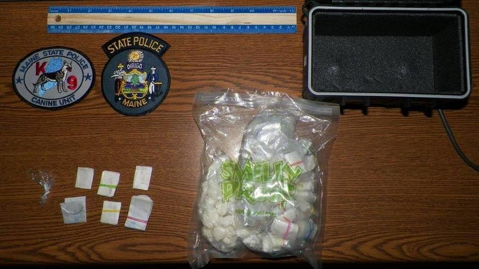 Crack, 400 bags of fentanyl seized on Maine Turnpike, 2