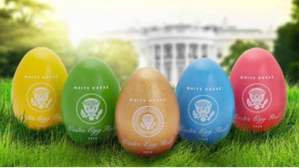 Rolling Along White House Easter Eggs Come From Maine Wgme